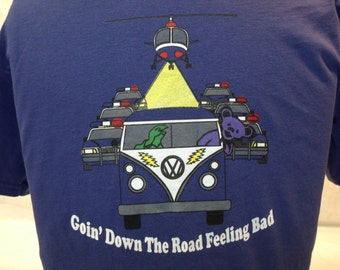Grateful Dead Shirt. Going down the road feeling bad