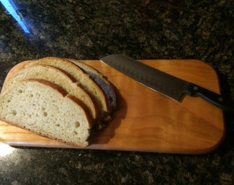 Hardwood cherry cuttingboard/ breadboard