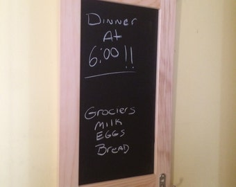 Chalk board message center