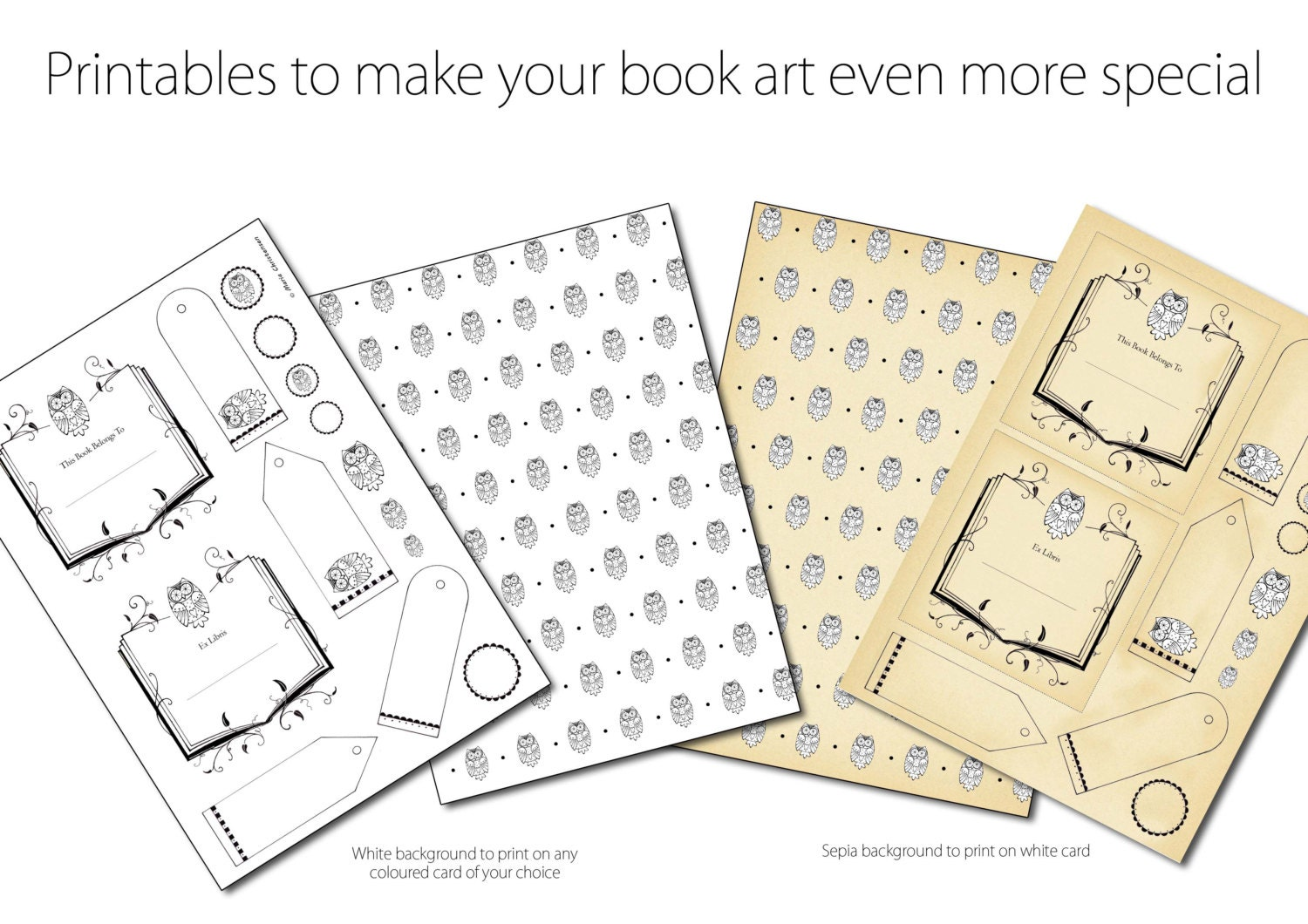 book folding pattern owl includes free printable downloads pdf
