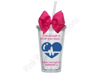 Nurse Tumbler, Nurse Cup, Nurse Tumbler Cup, Nurse Gift, Nurse Appreciation, Funny Nurse Cup, Cute Nurse Cup, Nursing Gift, Nursing Student