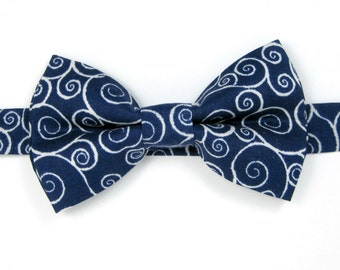 Navy  bow tie ,Wedding bow tie,Party bow tie for Men ,Toddlers ,Boys,Baby