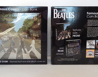 The Beatles - Abbey Road 1969 Famous Covers Coin Bank