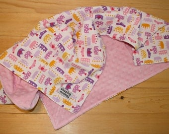 Baby Blanket, Princess Blanket, Crowns Blanket, Minky Blanket 28x34