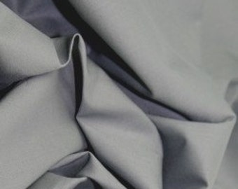 Dark grey 100% cotton fabric.
