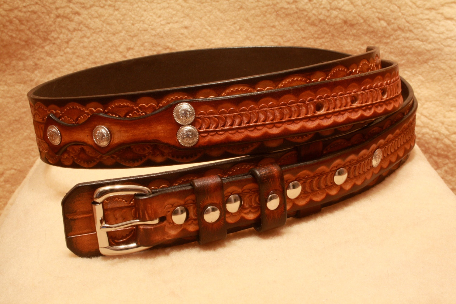 ranger belts handmade handmade leather ranger belt western style with roller belt 4016
