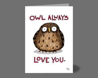 Owl Love Card