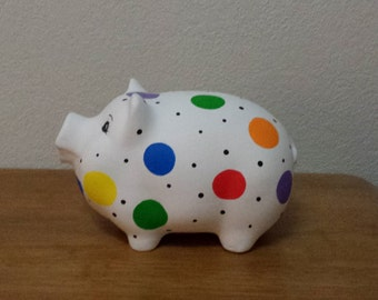 Pock-a-Dot Pig Bank(#301)