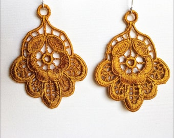 Lovely Medallion Earrings