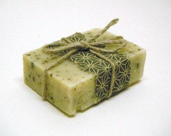 Organic soap - Set of 3 Lavender Scots Pine Soap - cold process soap - handmade natural soap - botanicalsoap