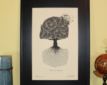 "The Ocean Harvest Print 11x17"""