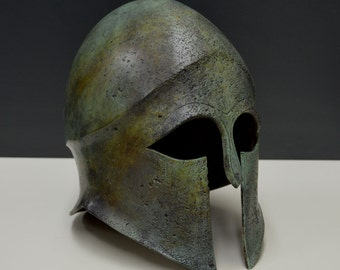 Ancient Greek Helmet Bronze aged
