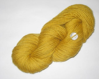Tapestry Wool, Mustard, 4-ply, 125+ yds each skein