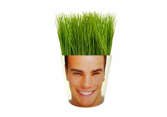 Flower Pot With Your Face On It Face Potter Garden By