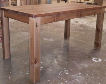 Table, Reclaimed Wood, Salvaged Solid Wood, Dining Table, Vintage, Rustic, Farmhouse