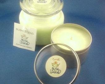 BUSH LEGEND -  Soy Candles / Gift Pack.