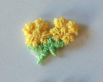 Set of 10 Yellow Daisies