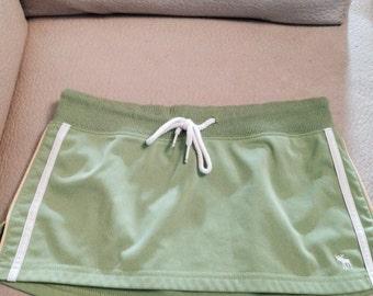 SALE** 90s Lime Green Abercrombie Mini Skirt- Size. XS