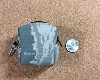 MINI Key ring Zipper Pouch, Cosmetic Bag, Coin Purse