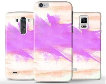 Pastel Drawing Art Purple Orange Hard Case Cover Apple iPhone 5 5s 5c 6 Plus Samsung Galaxy s4 S6 s5 Note 3 4 Sony Xperia Z Z3 Z1 Z2 Lg G3