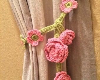 popular items for crochet curtain on etsy