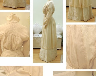 Spectacular Edwardian Wedding dress
