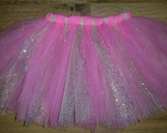 Pink and Gold Tutu, Gold and Pink Tutu, Girls tutu, Infant Tutu