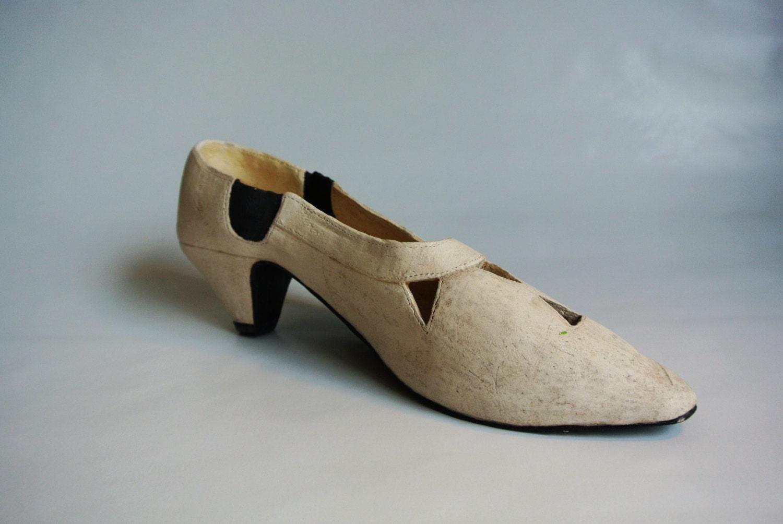 handmade ceramic high heel shoe sculpture free shipping