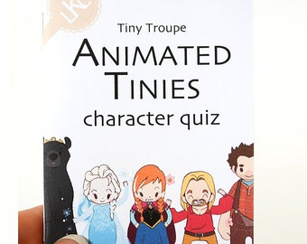 Animated movie quiz book