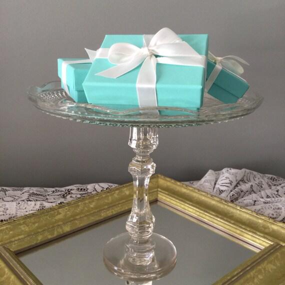 Pedestal dessert stand. Cake stand. Serving piece. Home decor.