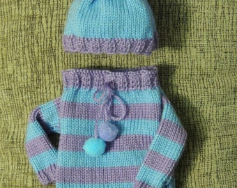 Свитер одежда для кукол. sweater clothes for dolls