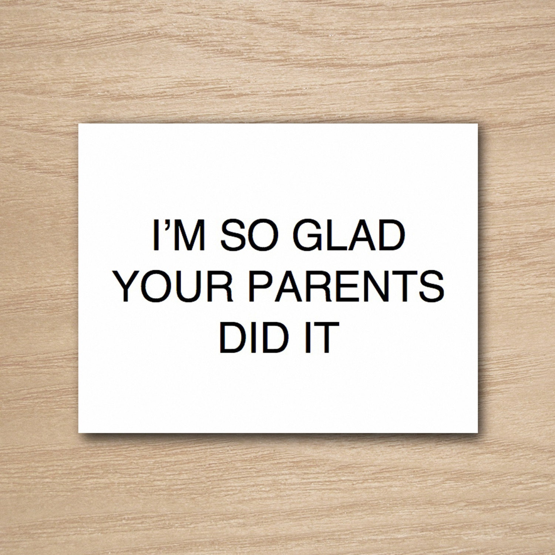 Instant Download DIY Printable Funny Humor Happy Birthday