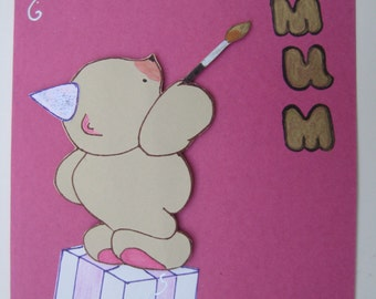 Handmade card for a very special mum! EGST