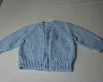 Baby knit button down sweater
