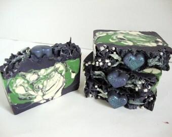 Lavender Paradise Soap | Cold Process Soap | Artisan Soap | Handmade Soap | HandCrafted Soap | Vegan Soap | Shea Butter | Palm Oil Free Soap