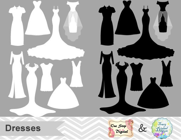 Bridesmaid Dresses Svg