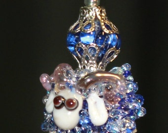 pendant - RAM in the lampwork