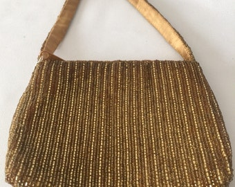 La Regale Gold Vintage Purse