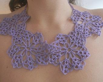 Crochet Round Neck