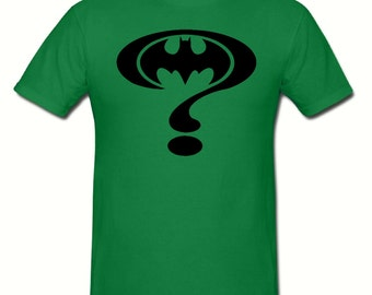 Riddler t shirt,mens t shirt sizes small- 2xl,fathers day gift,dad gift