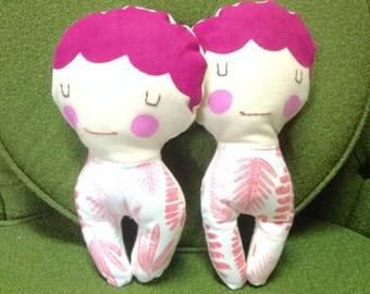 Pink Flower Stuffie