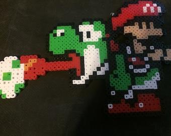 Baby Mario, Yoshi