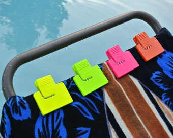 The Beach Clip Towel Holder