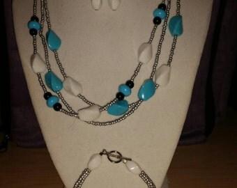 Summertime Blues Jewelry Set