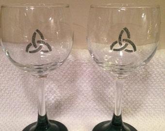 Celtic Wine Glasses