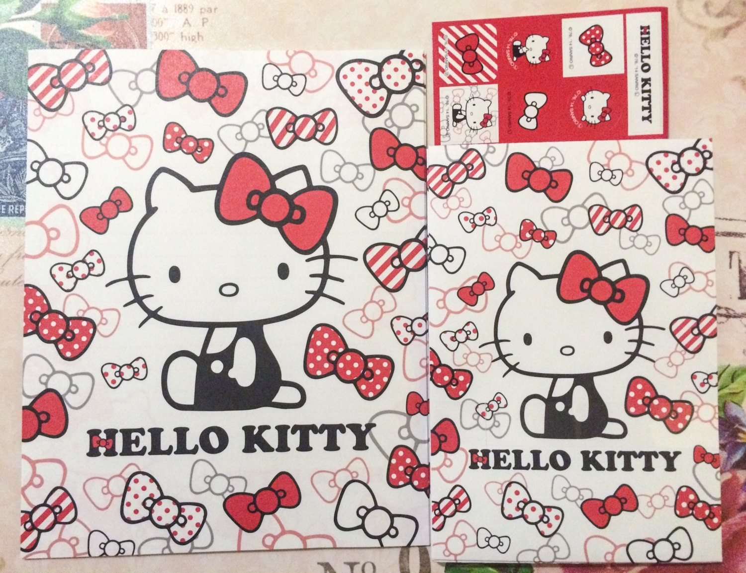 hello kitty wrapping paper