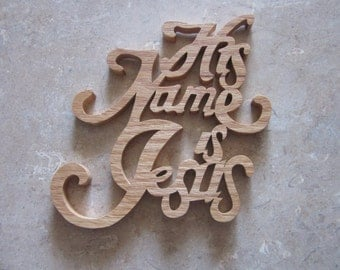 Scroll Saw Names Etsy