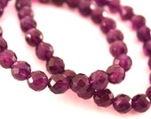 Faceted Purple Amethyst -...