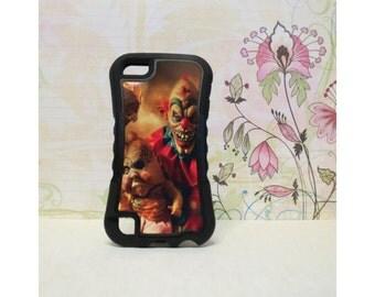 Evil Clown - Rubber iPod Touch 5 (5th gen) Case