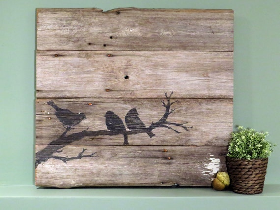 Items similar to Rustic Handcrafted Reclaimed Barn Wood